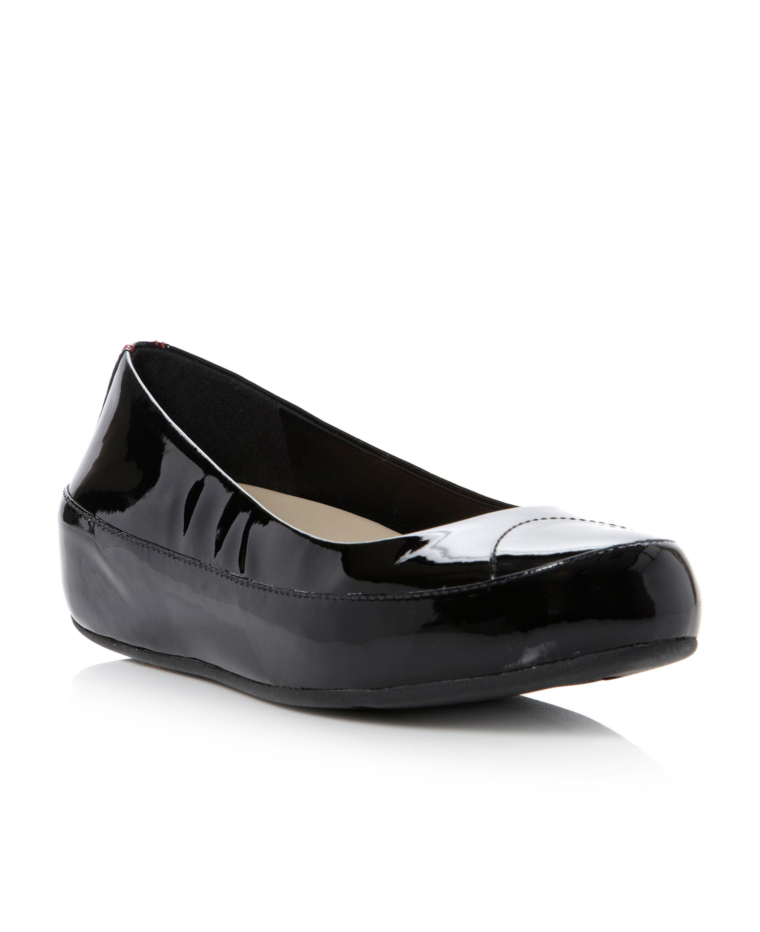 Due Patent Flatform Ballerina Shoes