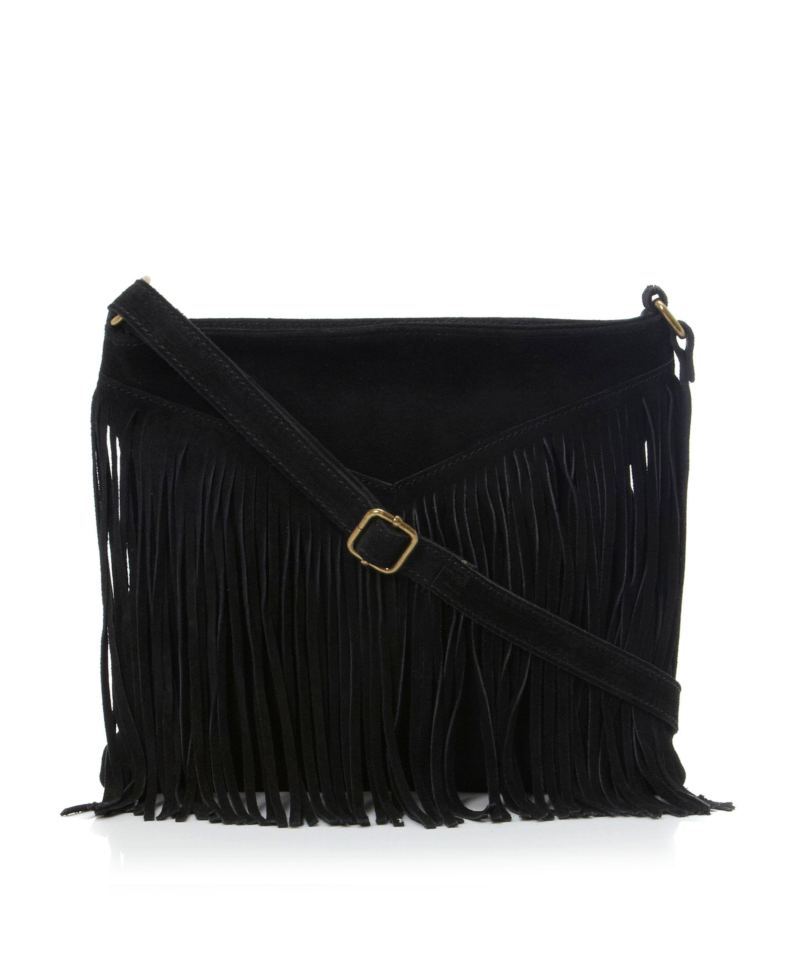 Bvexie fringed cross shoulder bag