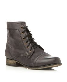 Steve Madden Thunderr Lace Up Worker Boots
