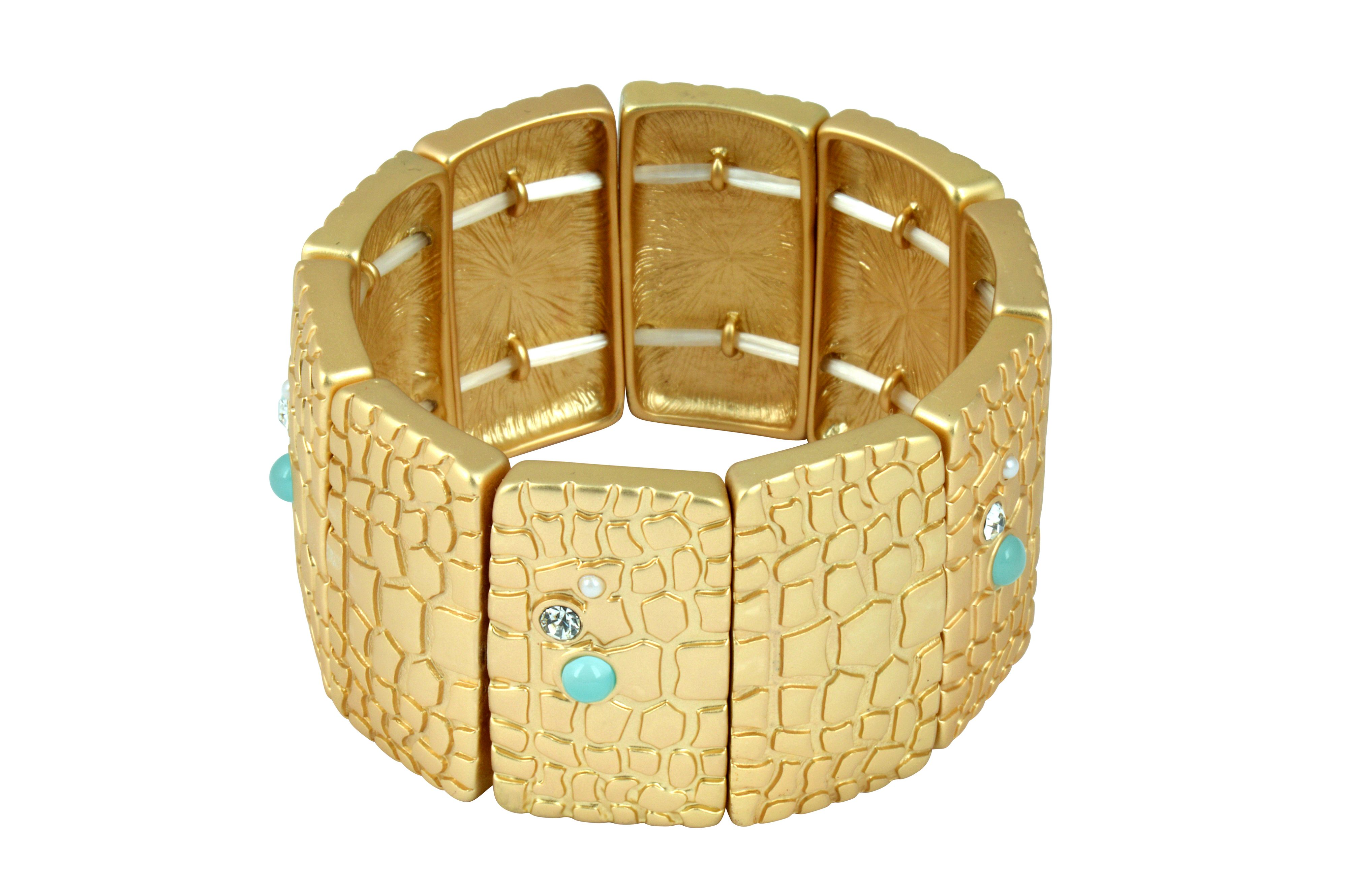 Reptile stretch bracelet
