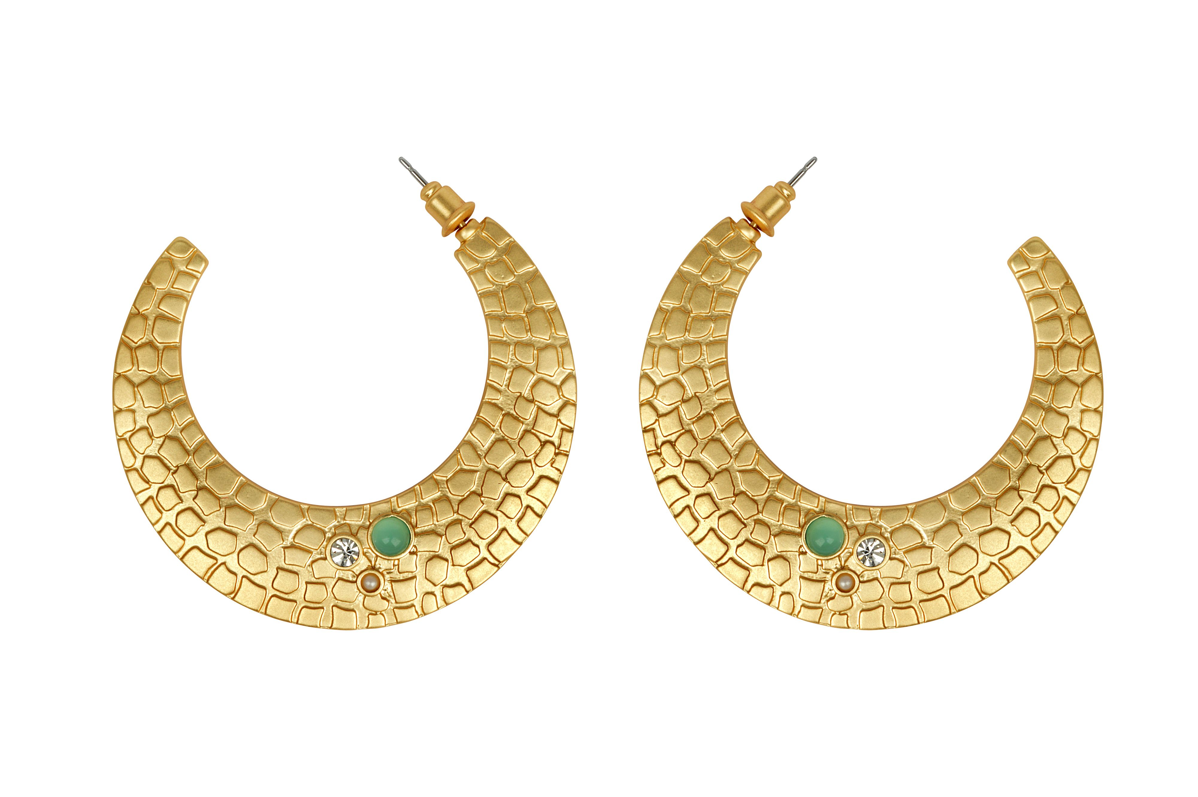 Reptile earrings