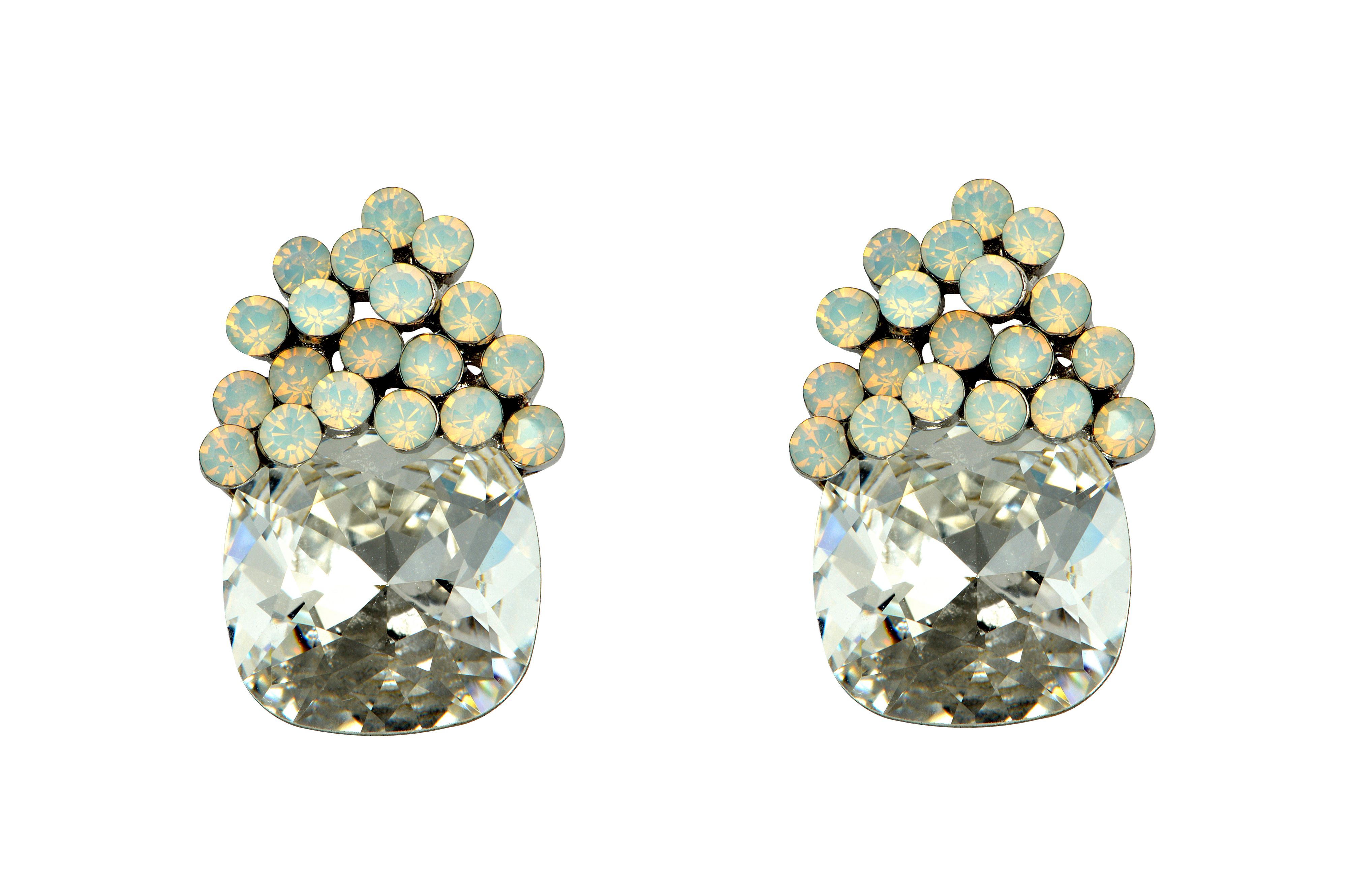 Generics opal stud earrings