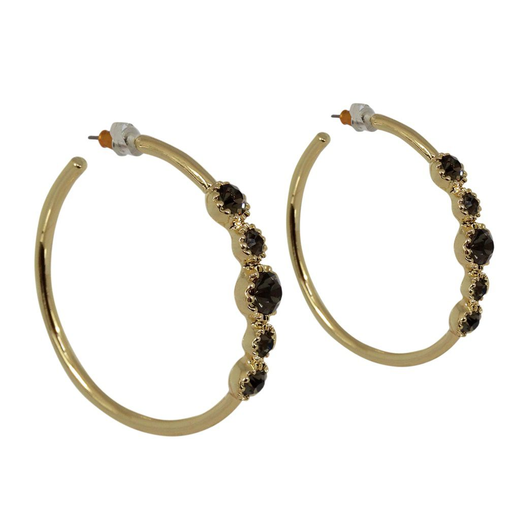 Tamra hoop earrings