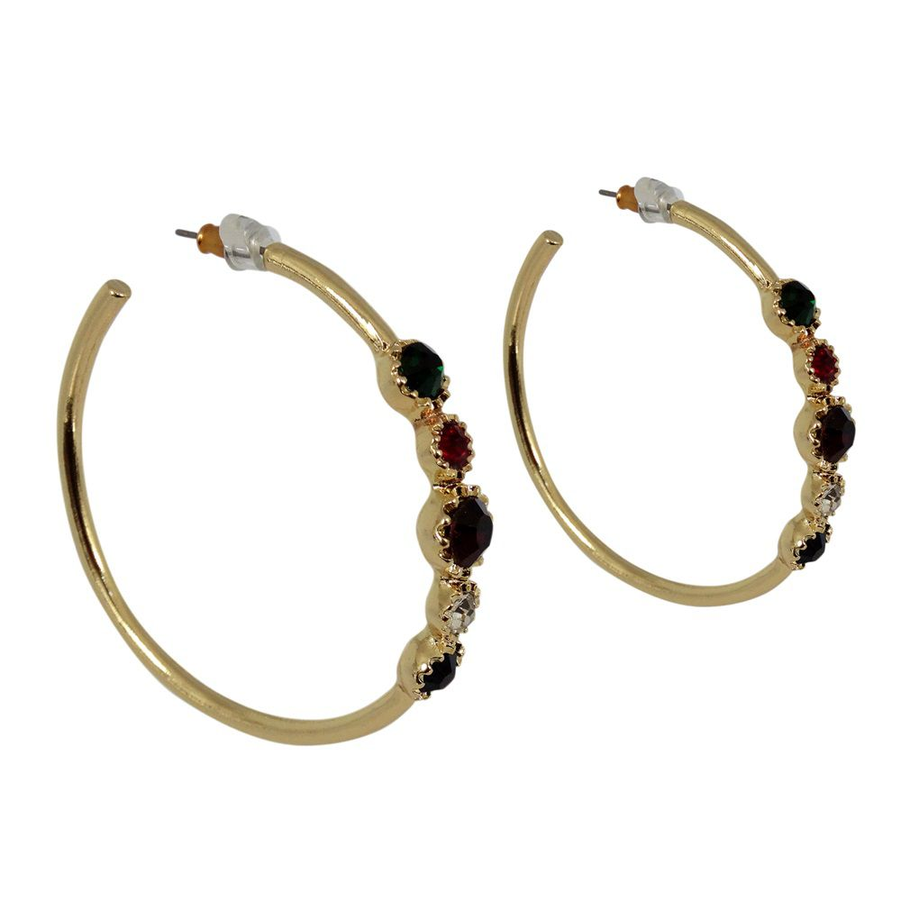 Nena hoop earrings