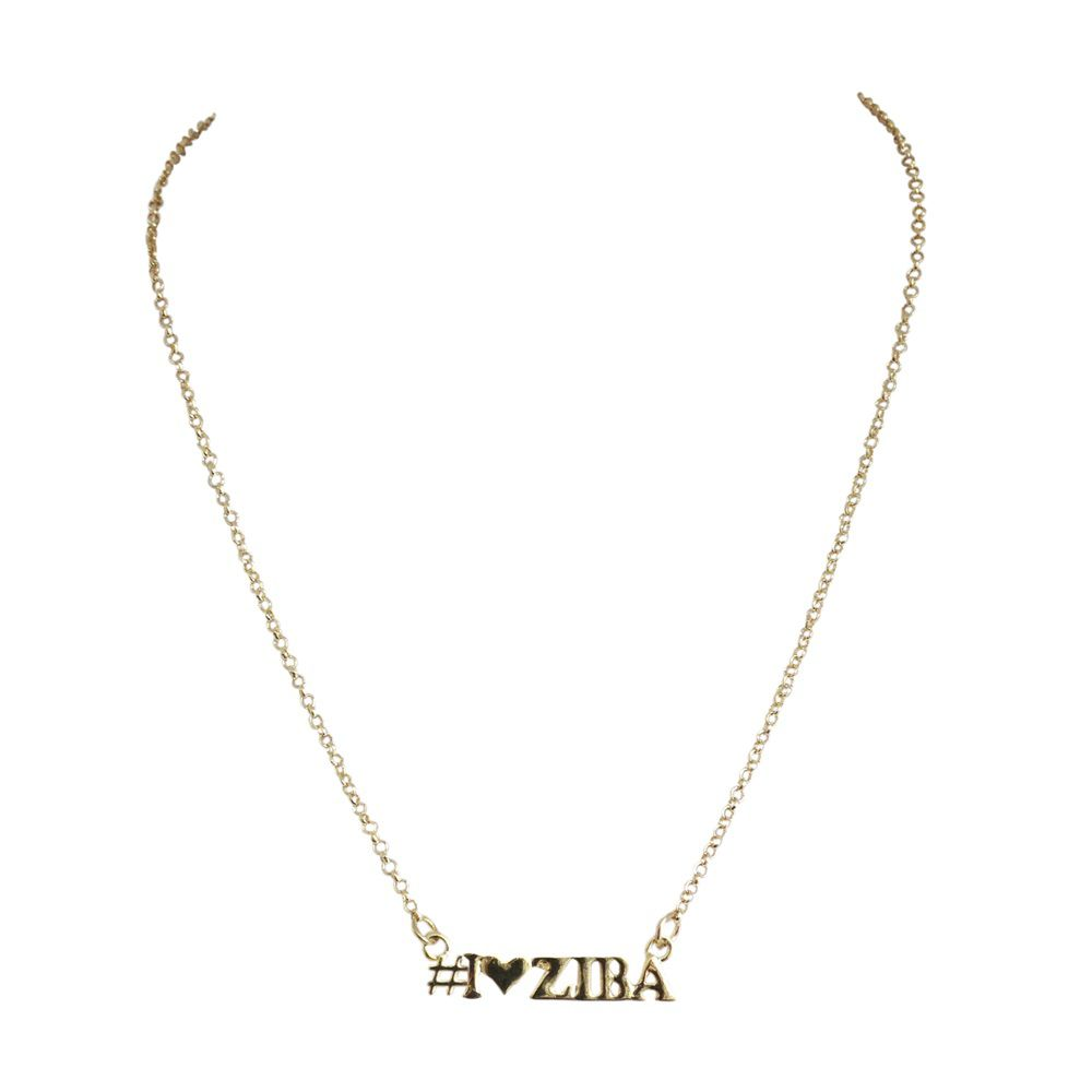 Iheartziba necklace