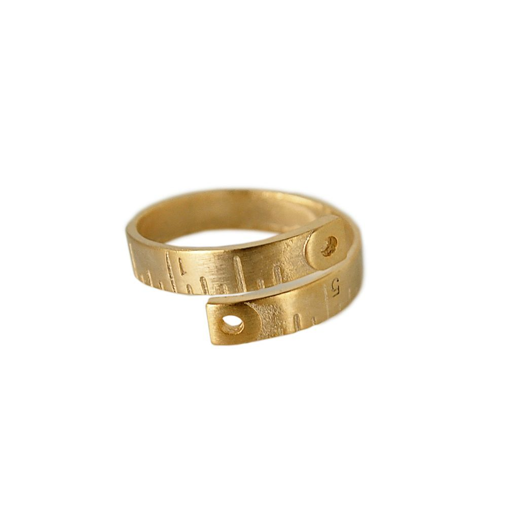 Layered ruler ring