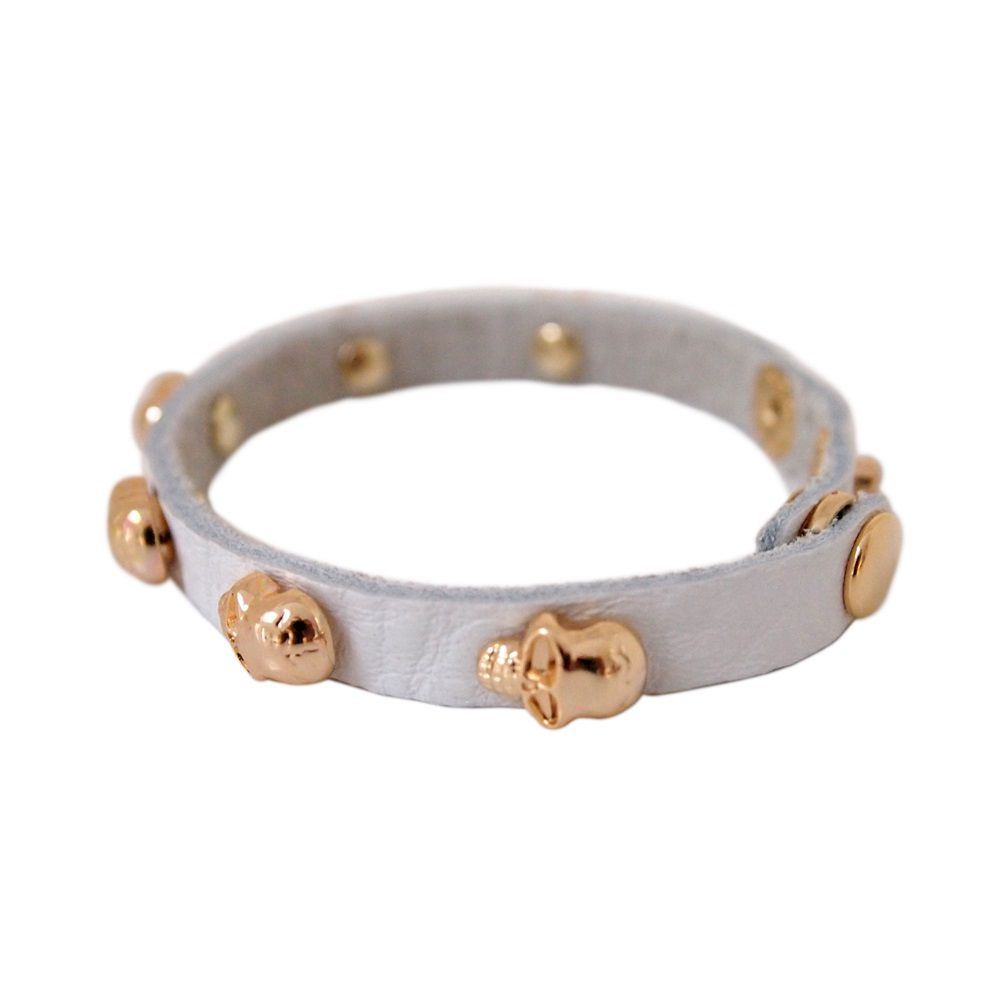 Gemma leather bracelet