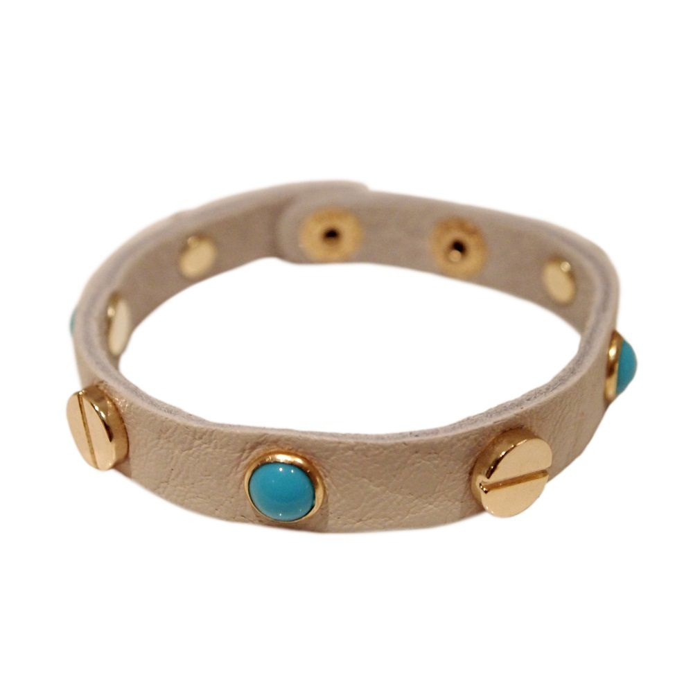 Madeline leather bracelet