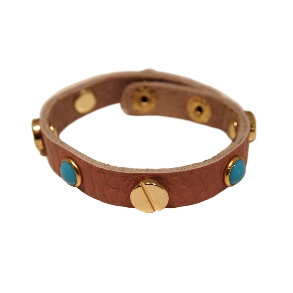 Isabel leather bracelet