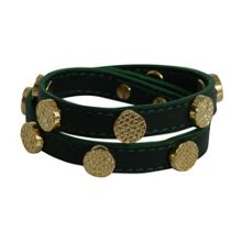 Saskia leather bracelet