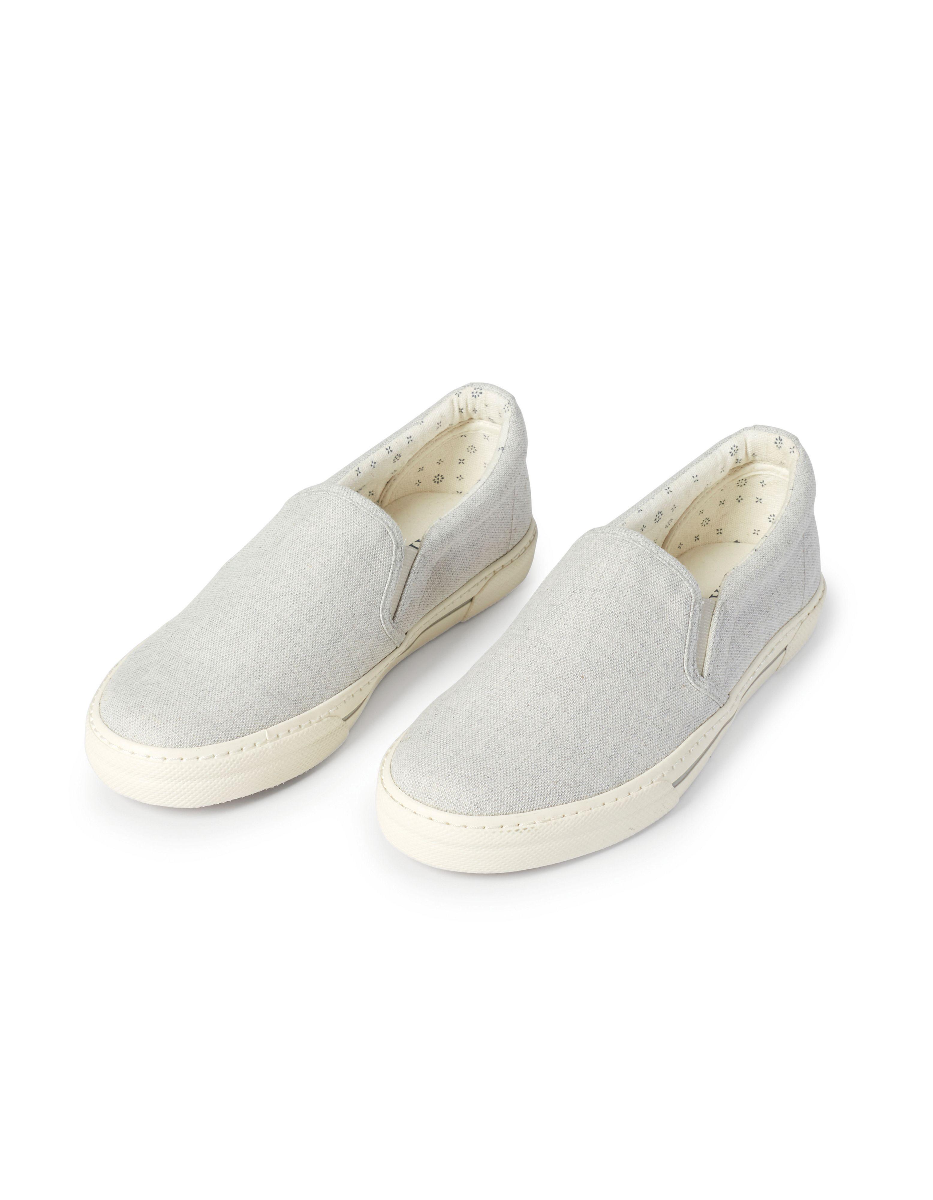 Fat Face Stoneby Slip On Trainer, Grey