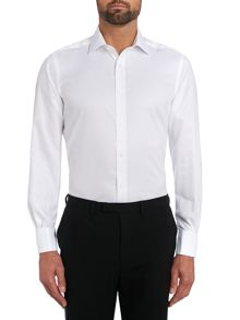 TM Lewin Non-Iron Herringbone Slim Fit Formal Shirt
