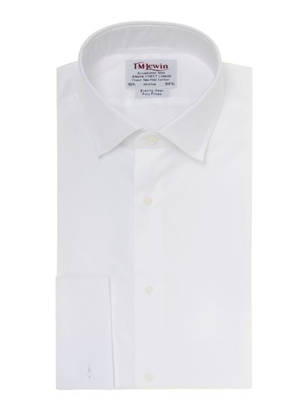 TM Lewin Marcella Plain Fully Fitted Dress Shirt
