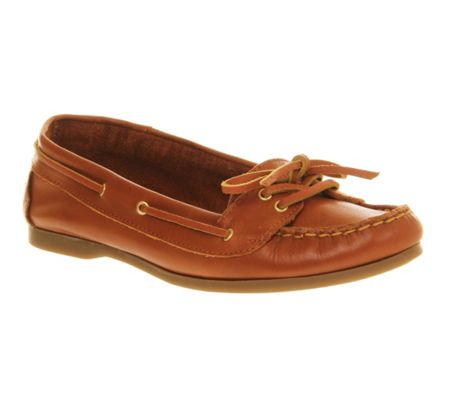 Office Marina lace boat shoes