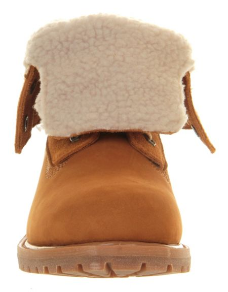 Timberland Teddy fleece ankle boots