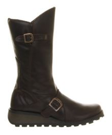 Mes Wedge Calf Boot