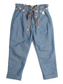 Disney Courage & Kind Girls Cinderella Blue Trouser