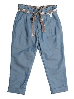 Girls Cinderella Blue Trousers