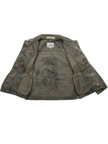 Disney Courage & Kind Boys Star Wars Printed Jacket