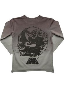 Disney Courage & Kind Boys Star Wars Long Sleeve Tee Shirt