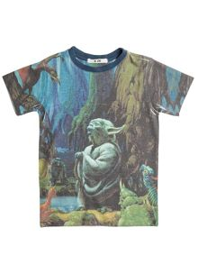 Disney Courage & Kind Boys Star Wars Yoda T-Shirt