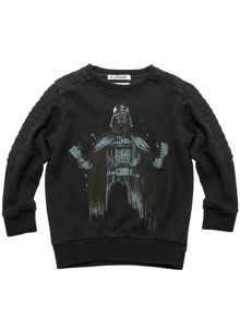 Disney Courage & Kind Boys Star Wars Darth Vader Sweatshirt