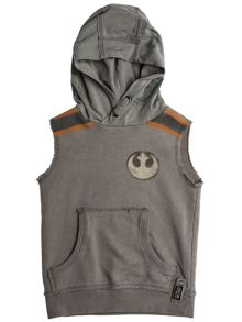 Disney Courage & Kind Boys Star Wars Storm Trooper Top