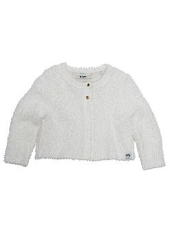 Girls Fluffy Cardigan