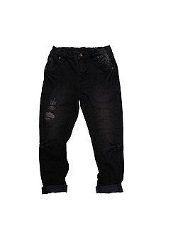 Boys Black Denim Marvel Jeans