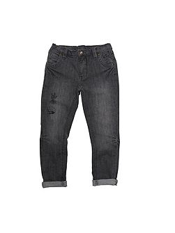 Boys Grey Denim Marvel Jeans