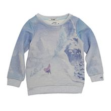 Disney Courage & Kind Girls Sparkly Frozen Sweatshirt