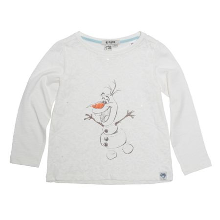 Disney Courage & Kind Girls Olaf Frozen Print T-Shirt