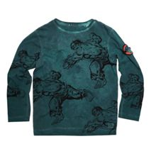 Disney Courage & Kind Boys Hulk Print T-Shirt