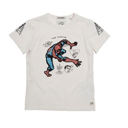 Disney Courage & Kind Boys Embroidered Spiderman T-Shirt