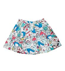 Disney Courage & Kind Alice in Wonderland Skirt