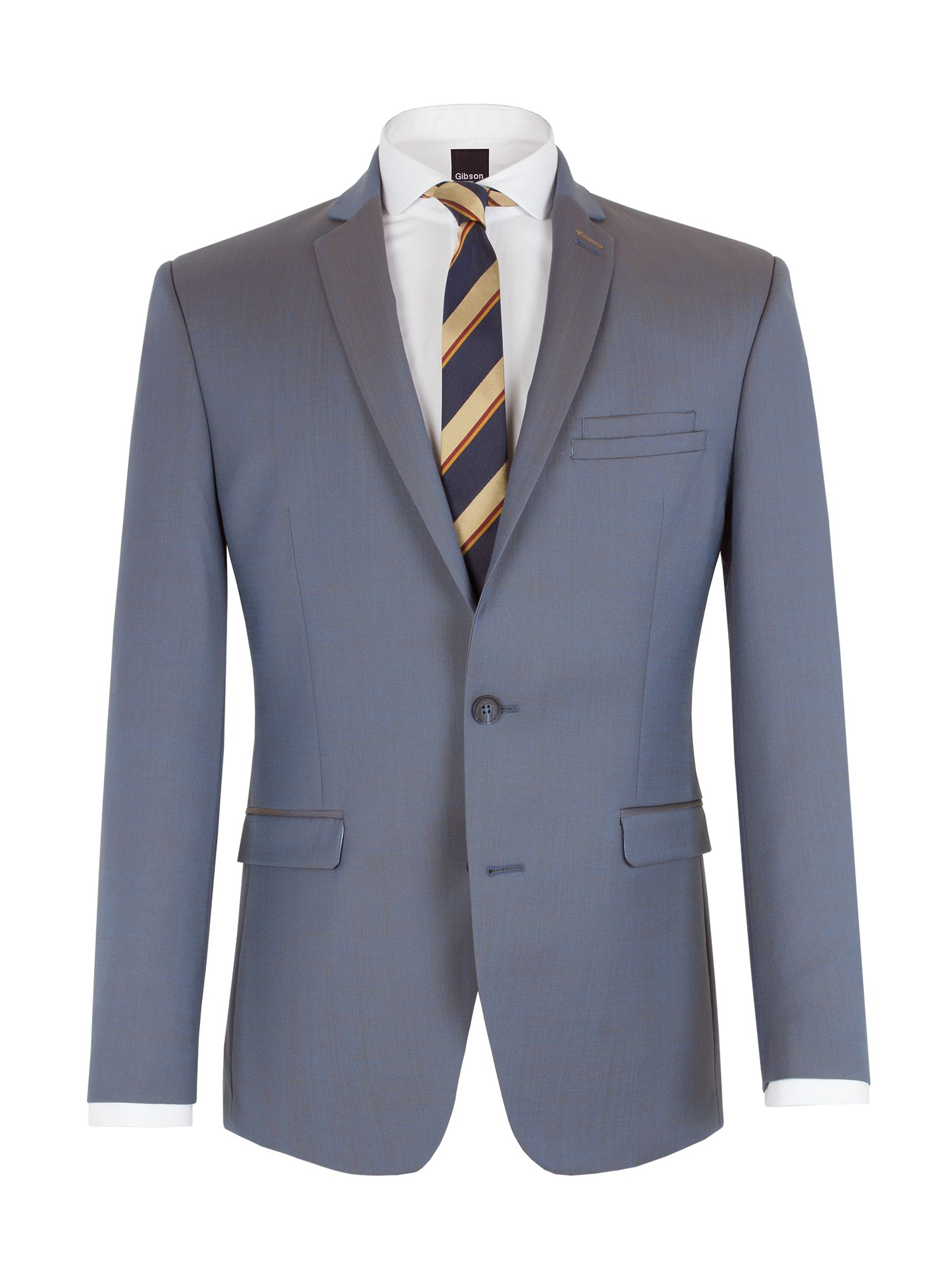 Two tone notch lapel suit