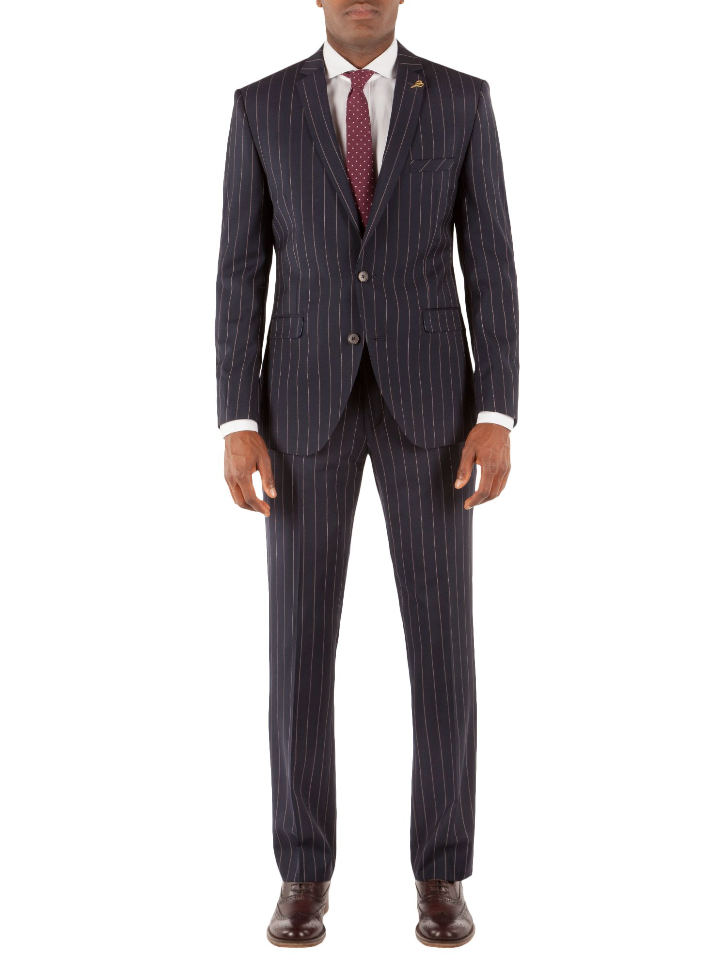 Marriott stripe suit