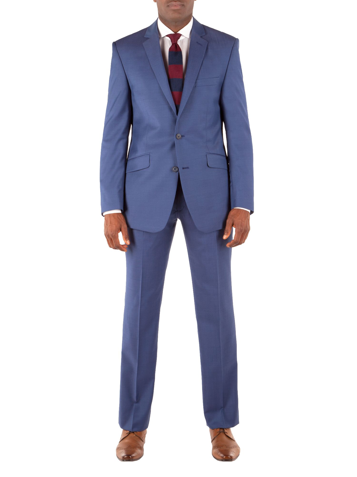 Heather notch lapel suit