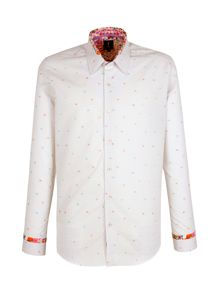 1 like no other Menelaus flower jacquard shirt