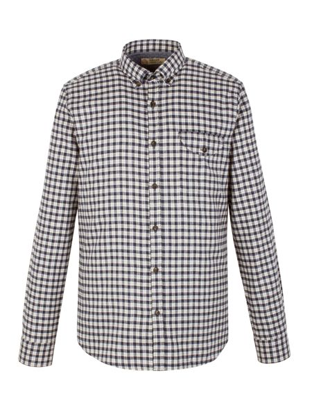 Gibson Check Tailored Fit Long Sleeve Button Down Shirt