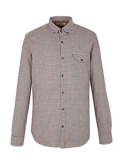 Check Tailored Fit Long Sleeve Shirt