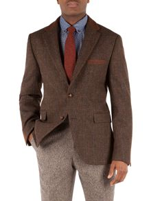 Moorgate Check Casual Button Blazer
