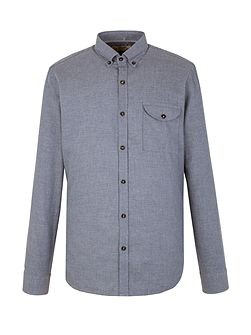Plain Tailored Fit Long Sleeve Shirt