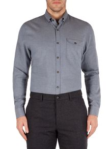 Gibson Plain Tailored Fit Long Sleeve Shirt