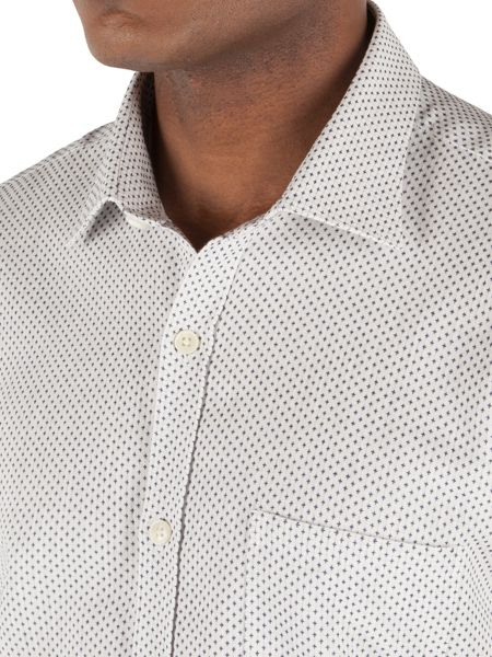 Gibson Pattern Tailored Fit Classic Collar Shirt