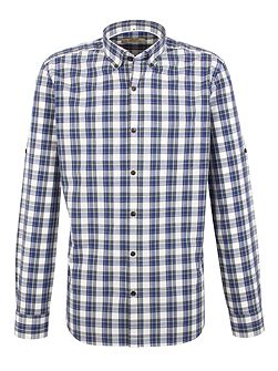 Check Tailored Fit Button Down Shirt
