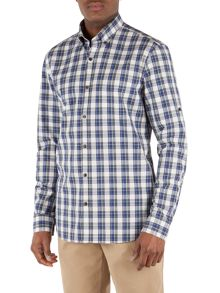 Gibson Check Tailored Fit Button Down Shirt