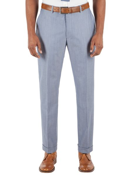 Gibson Light Blue Suit Trousers
