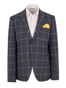 N/Awindowpane Check Blazer
