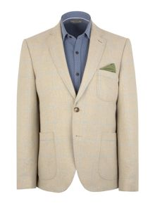 Gibson N/Awindowpane Check Button Blazer